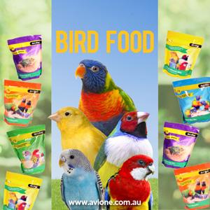 Bird Food range